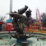 Brunnenfiguren im Prater