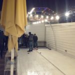Eisstockbahnen am Badeschiff