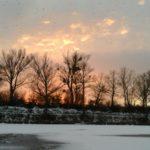 Winter an der Panozzalacke