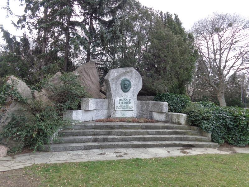 Rudolf Steiner Denkmal