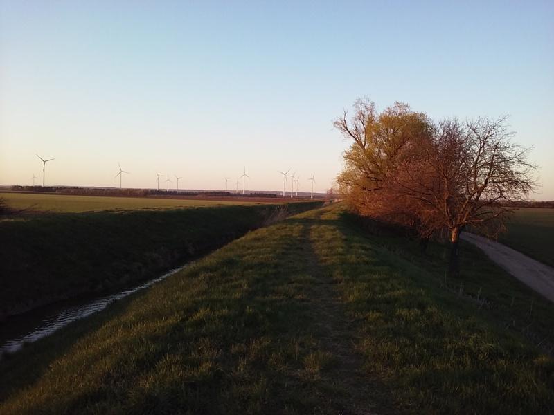 Sonnenuntergang am Rußbach