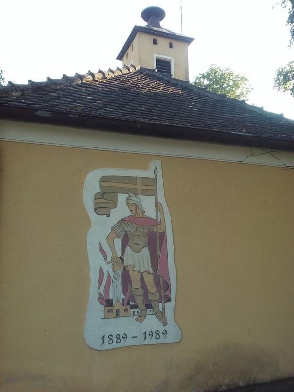 Altes Feuerwehrhaus in Parbasdorf
