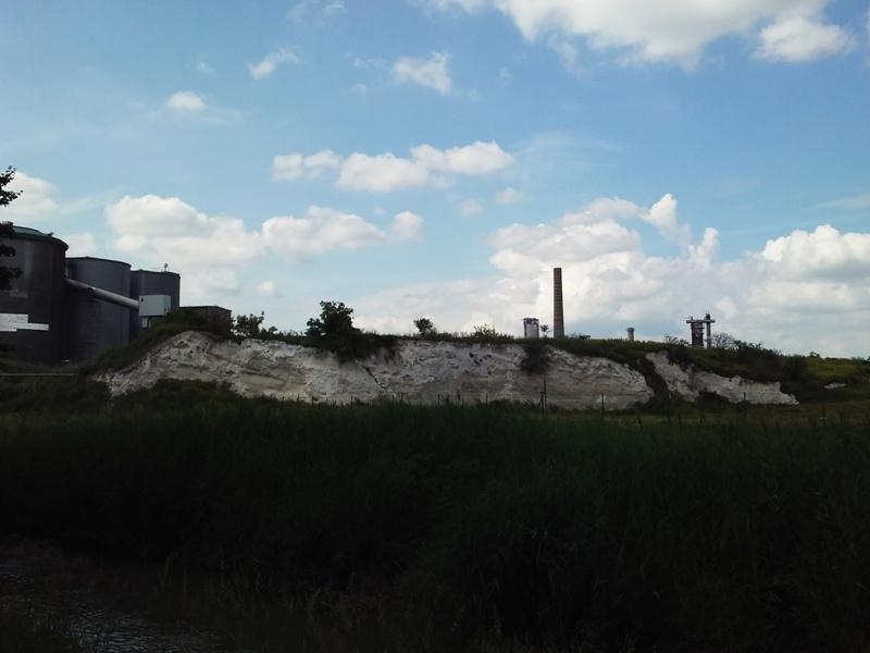 Abfallhaufen der Zuckerfabrik