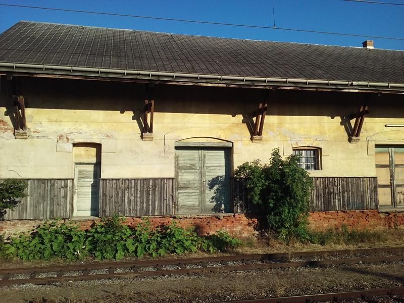 Alter Güterbahnhof in Angern