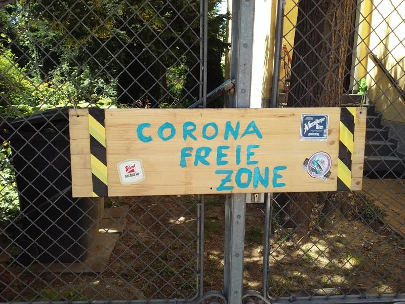 Coronafreie Zone