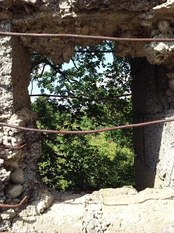 Ruine im Wagramer Wald