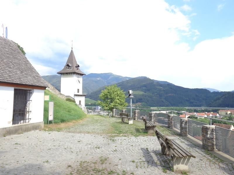Auf dem Brucker Schloßberg