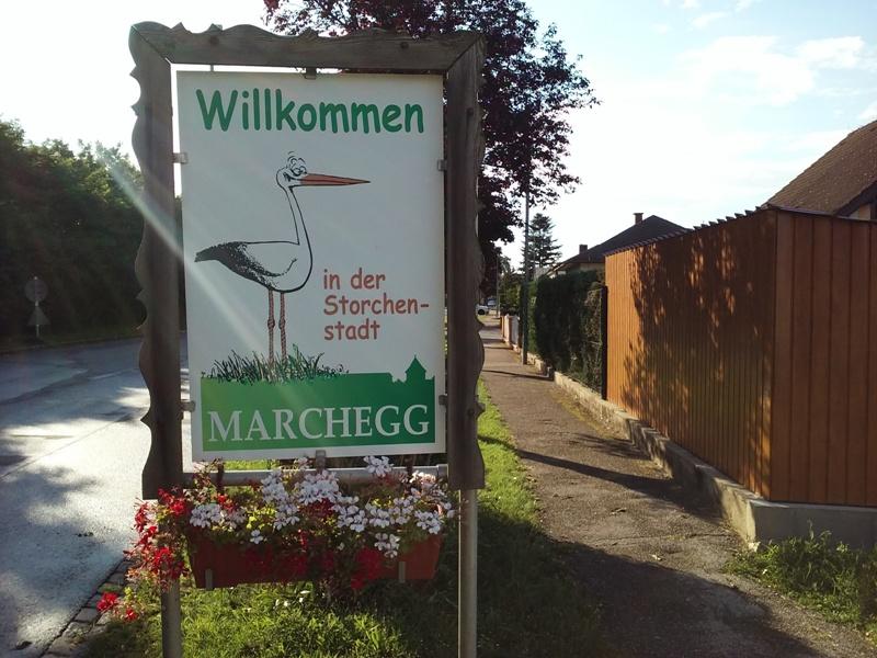 Storchenstadt Marchegg