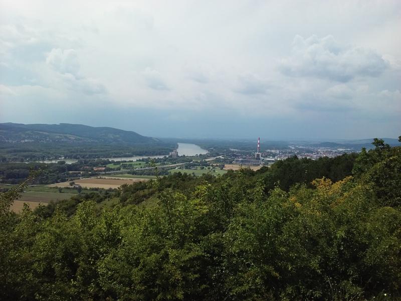 Donau bei Korneuburg