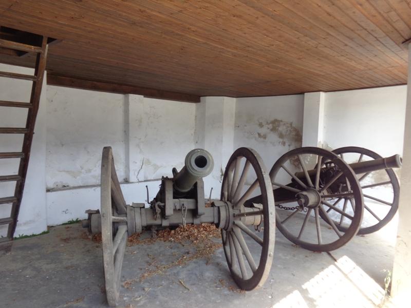 Kanonenstellung Landskron