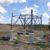 Strommasten Baustelle