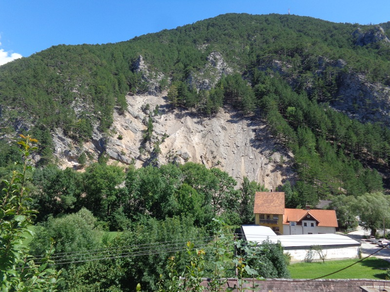 Geröll am Himberg
