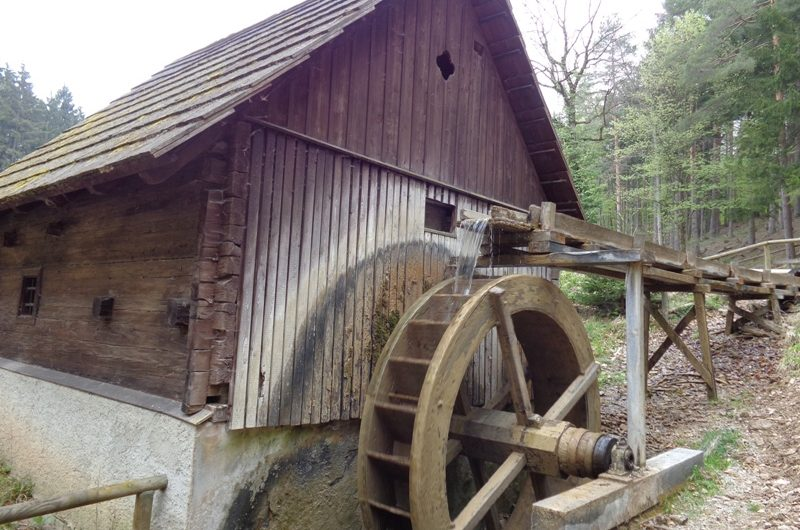 Leopoldmühle bei Sparbach