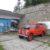 Roter Jeep am Sonnwendstein