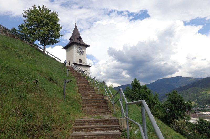 Uhrturm von Bruck