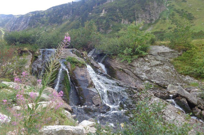 Wasserfall beim Grünsee