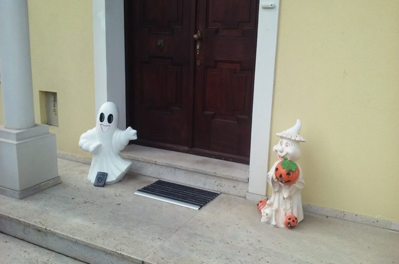 Halloween Türdeko