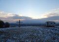 Kiaberi Kreuz im Winter