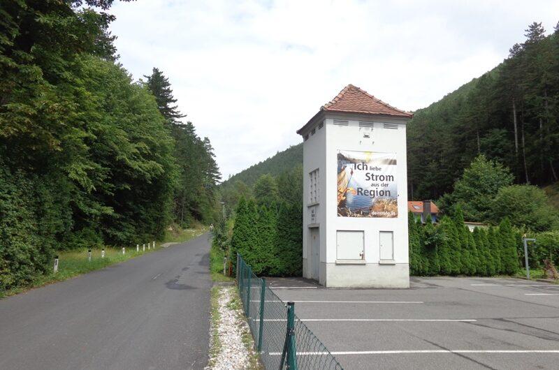 Trafostation in Ortmann