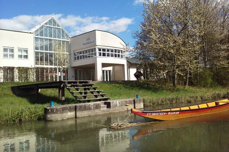 Boot auf dem Marchfeldkanal