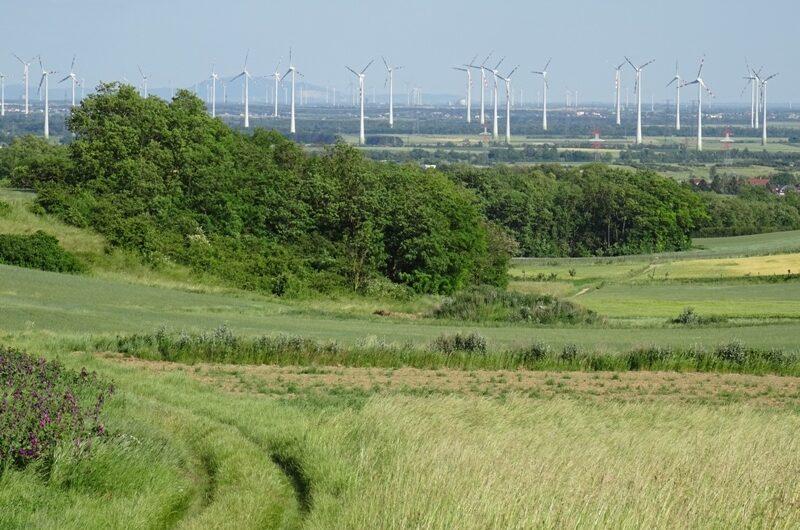 Windräder bei Wolkersdorf