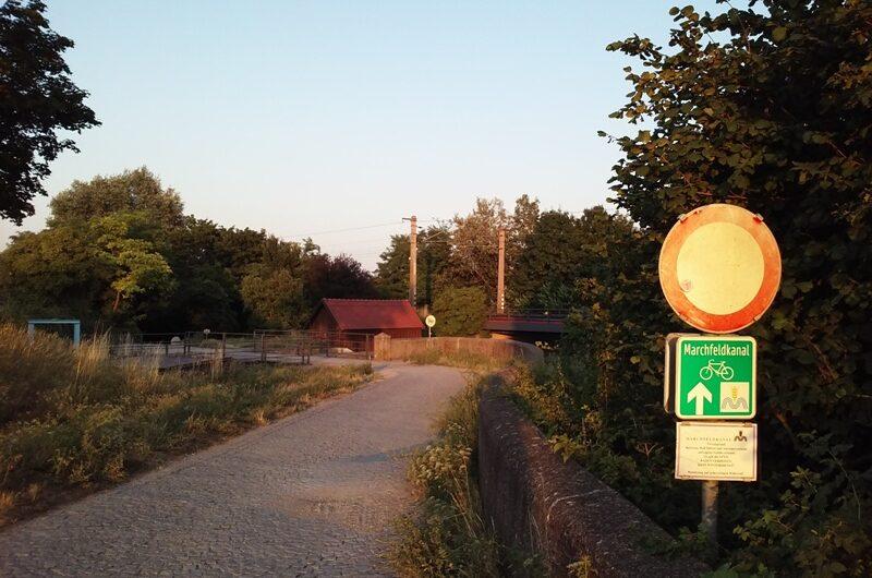 Marchfeldkanal Zufahrt