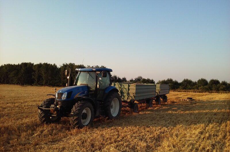 Traktor bei Helmahof