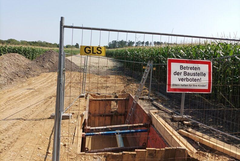 Marchfeld Pipeline Baustelle