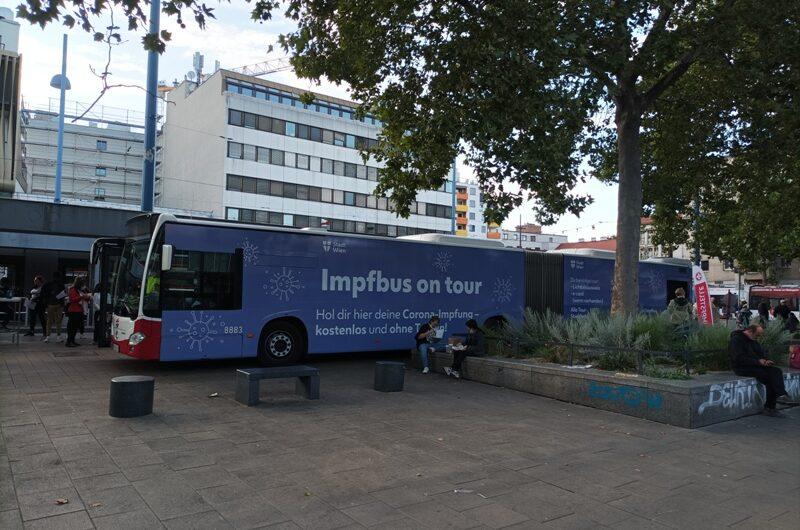 Impfbus unterwegs