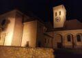 Kirche Deutsch Wagram bei Nacht
