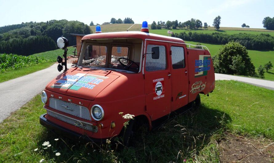 Egger-Richter Feuerwehrauto