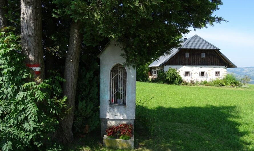 Marterl unterhalb vom Peilstein