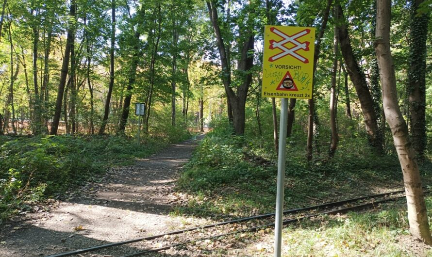 Liliputbahn Kreuzung